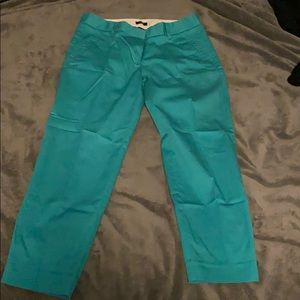 Slim Ankle-Length Pants